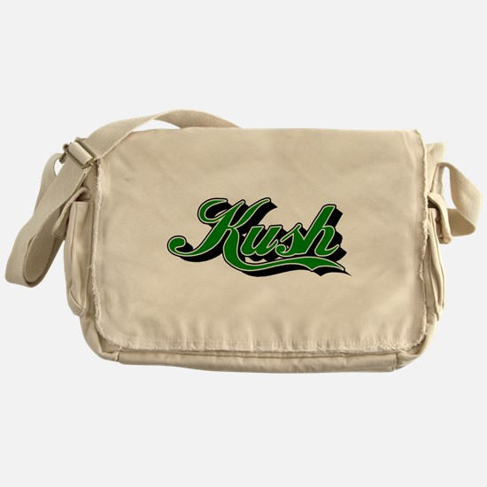 KUSH [1 green] Messenger Bag