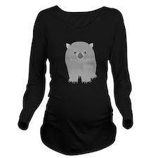 Wombat Long Sleeve Maternity T-Shirt