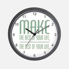 The Best of Your Life Wall Clock