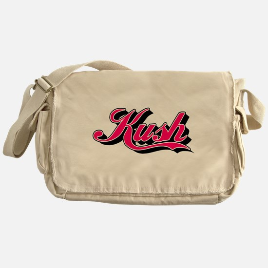 KUSH - 1 pink Messenger Bag