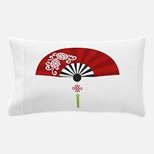 Asian Fan Pillow Case