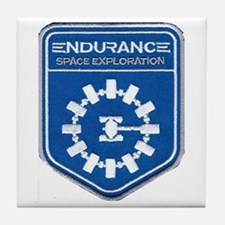 Endurance Interstellar Mission Tile Coaster