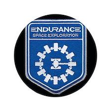 """Endurance Interstellar Mission 3.5"""" Button"""