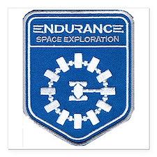 "Endurance Interstellar M Square Car Magnet 3"" x 3"""