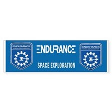 Endurance Interstellar Mission Bumper Sticker