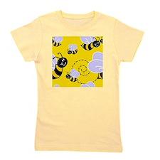 Bumblebee Pattern Girl's Tee