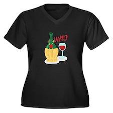 Vino Plus Size T-Shirt