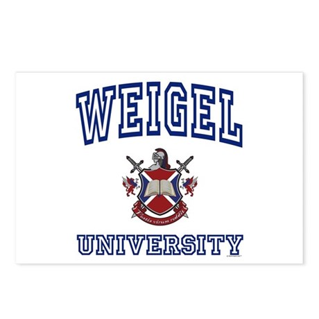 WEIGEL University Postcards (Package of 8)