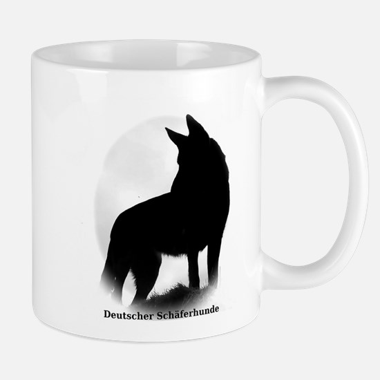 Black Shepherd Mugs