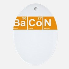Bacon Elements Ornament (Oval)