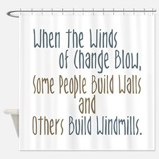 Winds of Change Shower Curtain