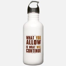 What You Allow Water Bottle