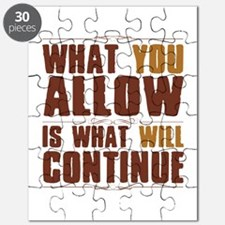What You Allow Puzzle