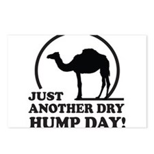Just Another Dry Hump Day! Postcards (Package of 8