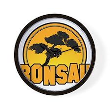 Bonsai!!! Wall Clock