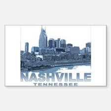 Nashville Tennessee Skyline Decal
