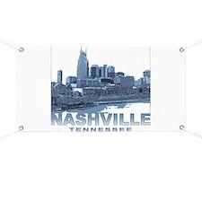 Nashville Tennessee Skyline Banner