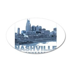 Nashville Tennessee Skyline Wall Decal