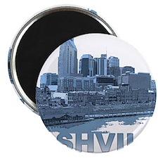 Nashville Tennessee Skyline Magnets