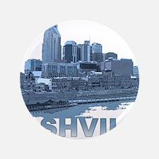 """Nashville Tennessee Skyline 3.5"""" Button (100 pack)"""