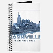 Nashville Tennessee Skyline Journal