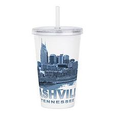 Nashville Tennessee Skyline Acrylic Double-wall Tu