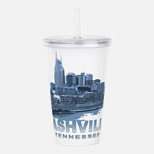 Nashville Tennessee Skyline Acrylic Double-wall Tu