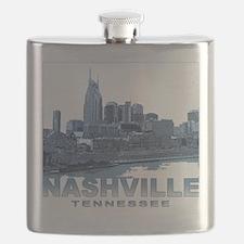 Nashville Tennessee Skyline Flask