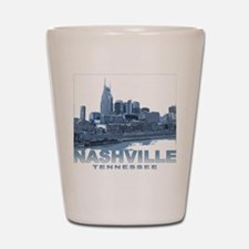 Nashville Tennessee Skyline Shot Glass