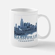 Nashville Tennessee Skyline Mugs