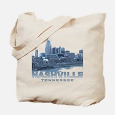 Nashville Tennessee Skyline Tote Bag