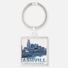Nashville Tennessee Skyline Keychains