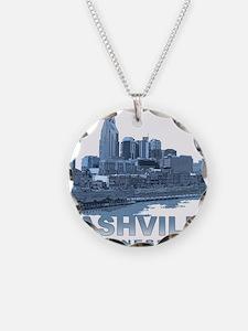 Nashville Tennessee Skyline Necklace