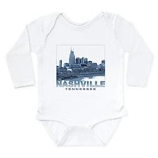 Nashville Tennessee Skyline Body Suit