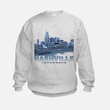 Nashville Tennessee Skyline Sweatshirt