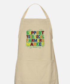 Support Your Local Farmers Market Apron
