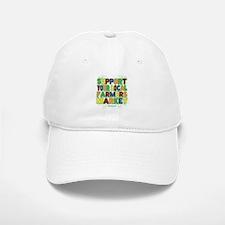 Support Your Local Farmers Market Baseball Baseball Cap