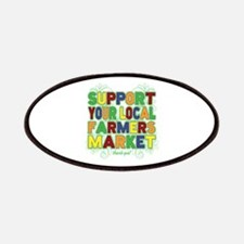 Support Your Local Farmers Market Patches