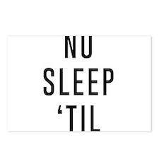 No Sleep 'Til Postcards (Package of 8)