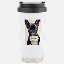 I Love You French Bulldog Travel Mug