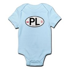 Poland Intl Oval Infant Bodysuit