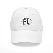 Poland Intl Oval Baseball Cap