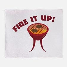 Fire it Up Throw Blanket