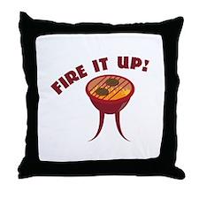 Fire it Up Throw Pillow