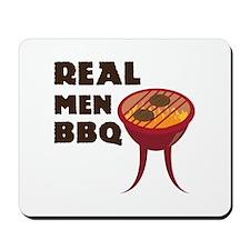 Real Men BBQ Mousepad