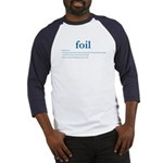 Foil Definition Baseball Jersey