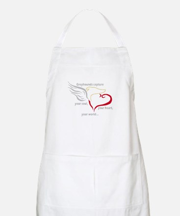 SOUL, HEART AND WORLD BBQ APRON