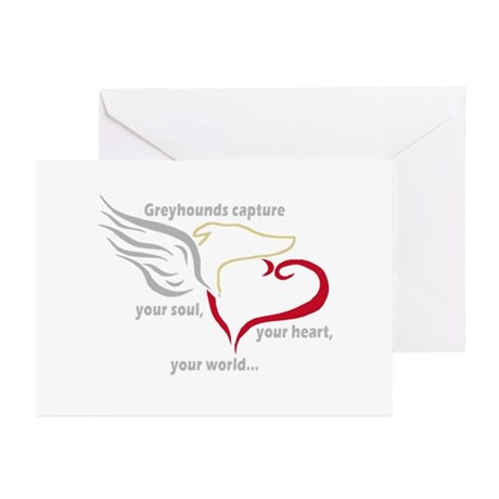 SOUL, HEART AND WORLD GREETING CARDS (Pk of 10)