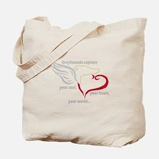 SOUL, HEART AND WORLD TOTEBAG
