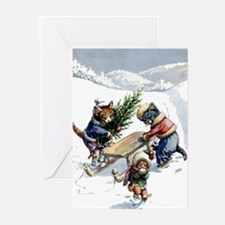 READY FOR CHRISTMAS Greeting Cards (Pk of 10)